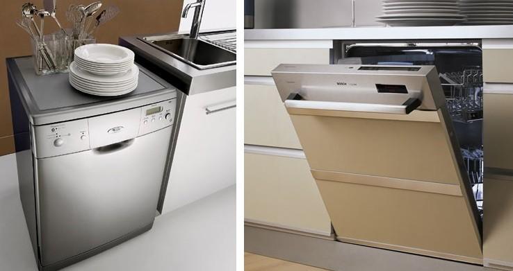 Отдельно стоящая или встраиваемая посудомоечная машина?