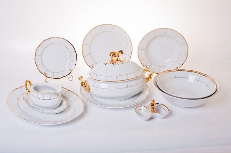 Лучшие наборы кухонной посуды из фарфора.