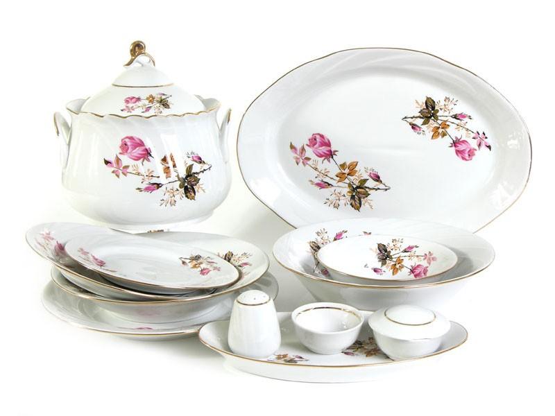 Лучшие наборы кухонной посуды из фарфора