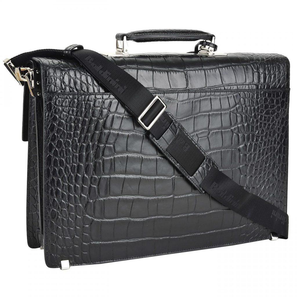 мужская сумка крокодил
