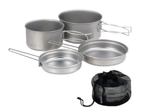 набор посуды для кемпинга